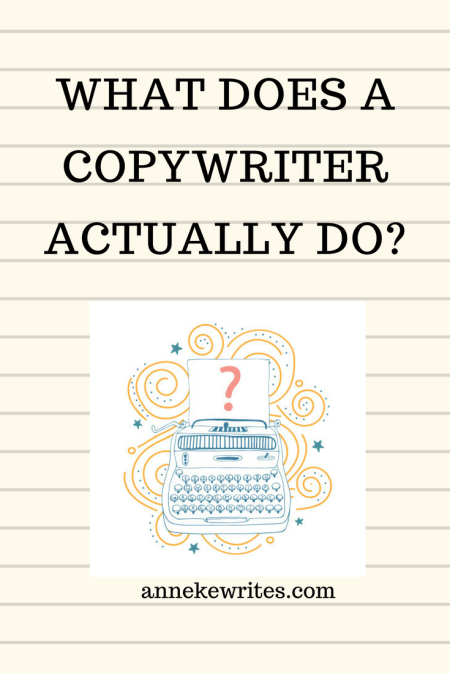 What does a copywriter actually do?