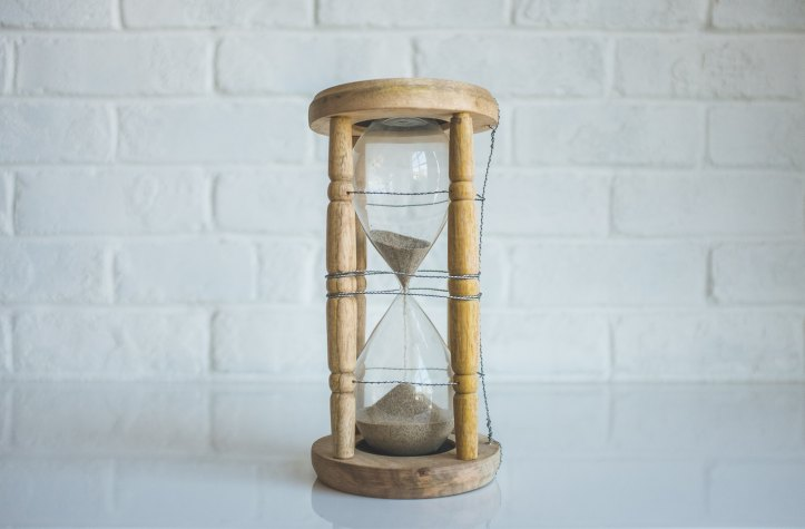 A sand timer isn't necessary for the pomodoro technique